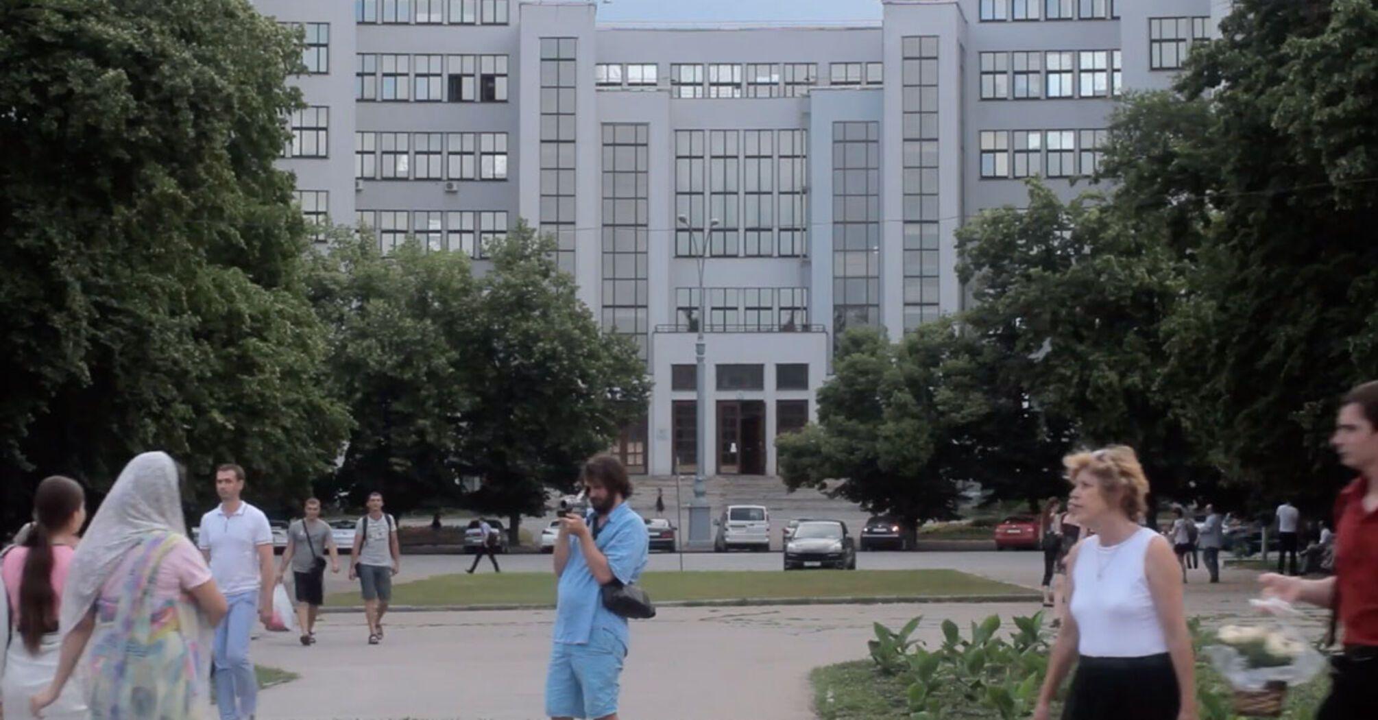 У Києві покажуть фільм про харківську пам'ятку конструктивізму – Держпром. Ми поговорили про нього з режисеркою.
