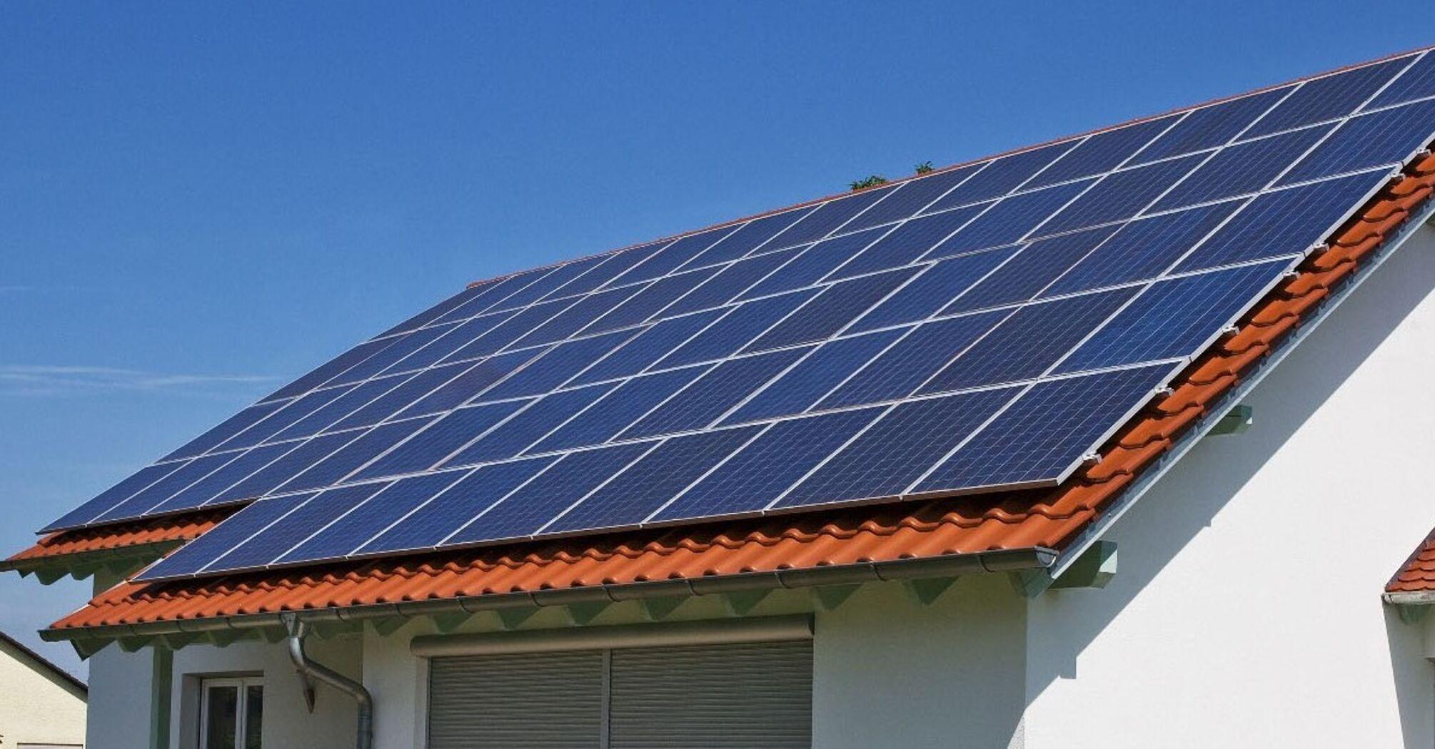 22 тисячі домогосподарств встановили сонячні панелі
