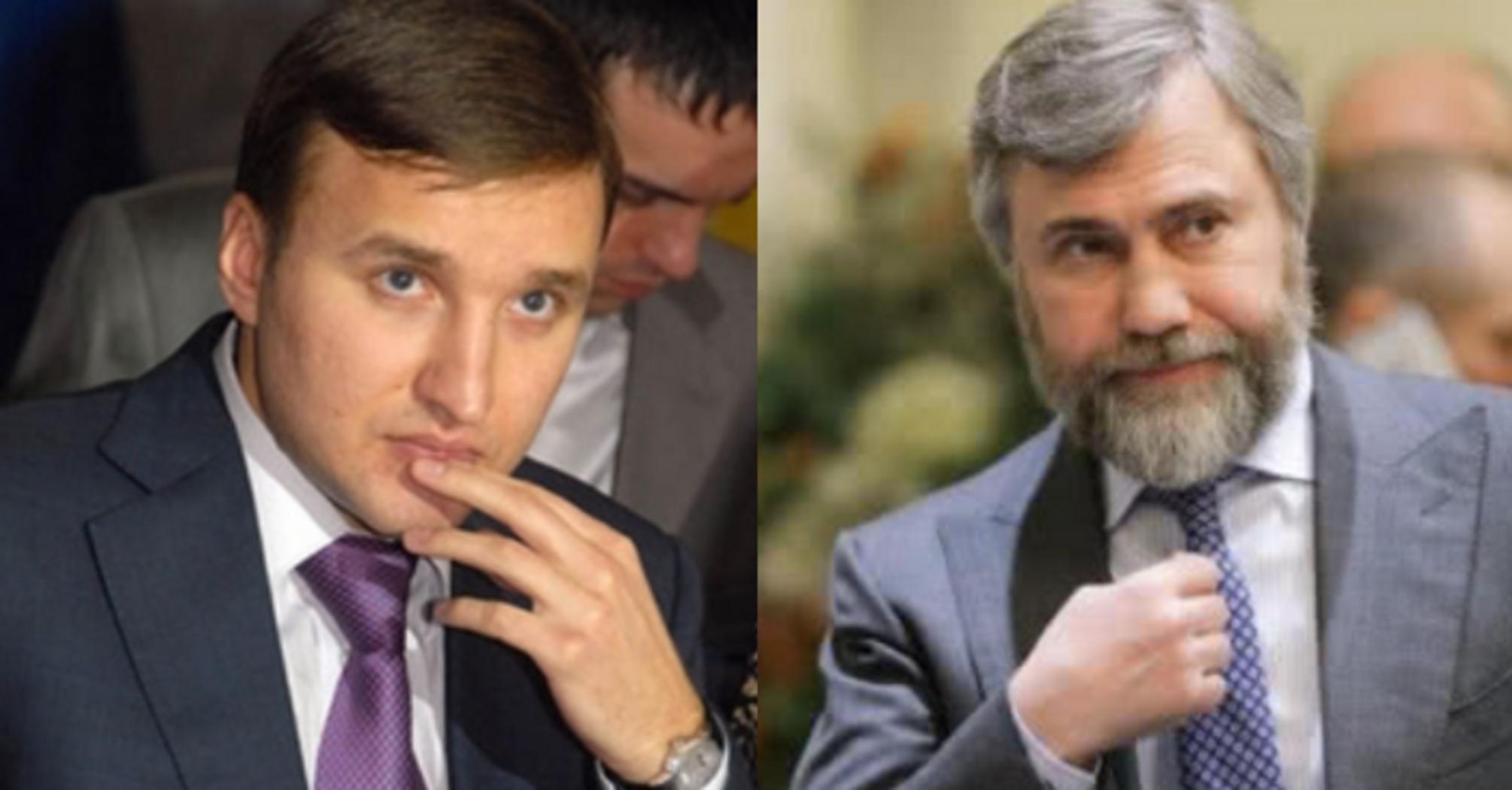 Андрій Кисельов і Вадим Новинський