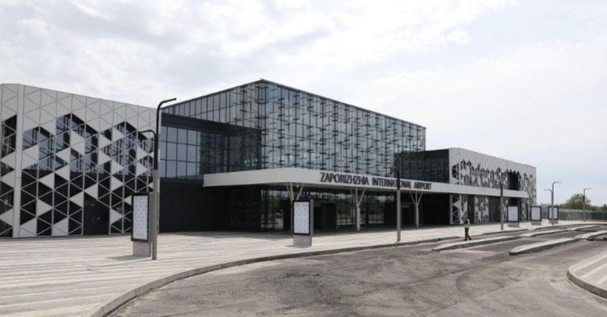 У Запорізькому аеропорту запрацював новий термінал за 1,3 мільярда