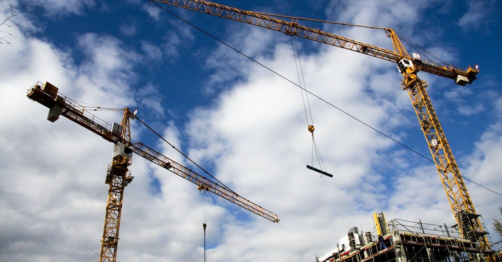 Производство строительной продукции в сентябре выросло на 18,3%