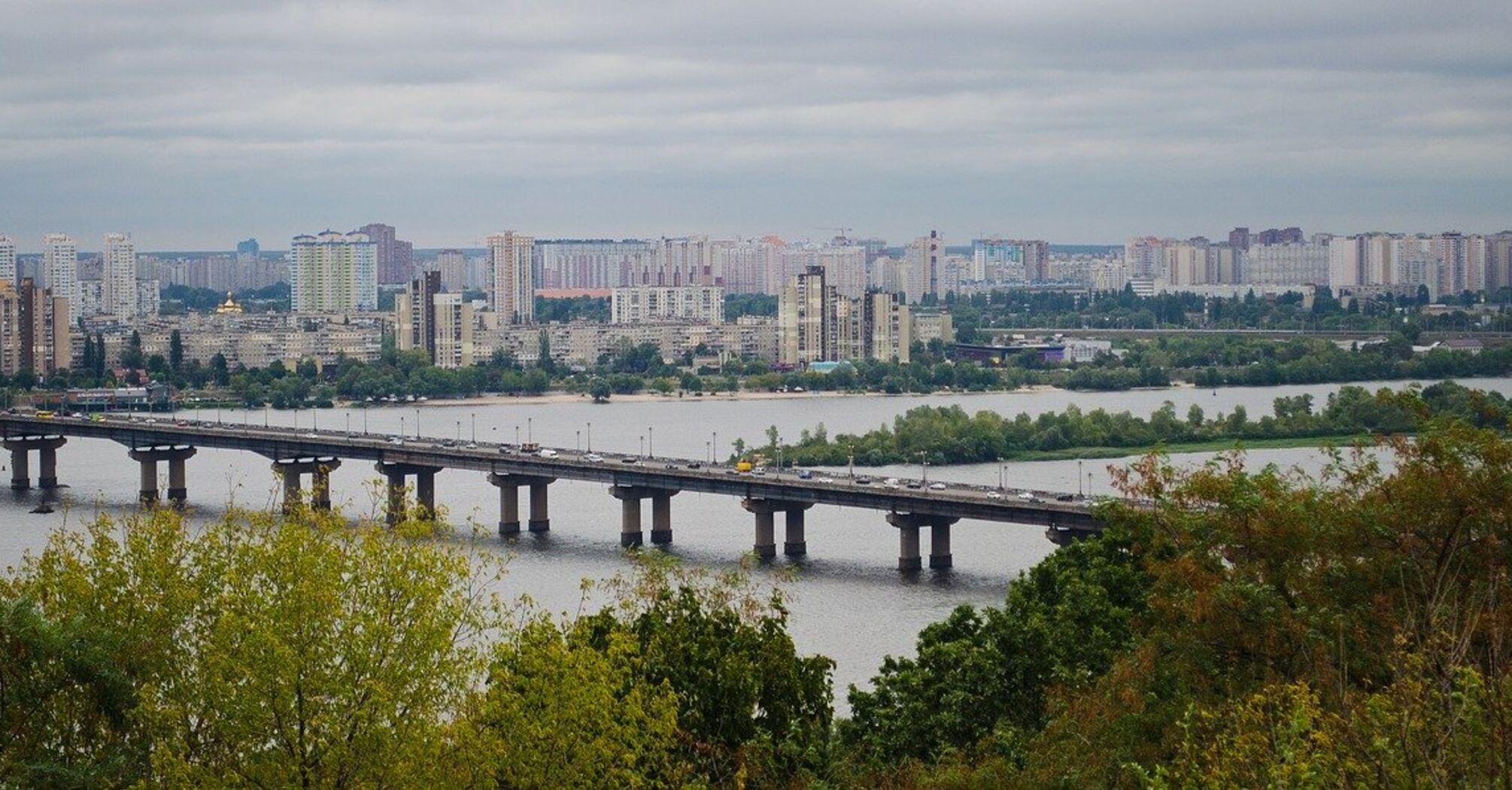 В Киеве в первую неделю лета будет дождевая и прохладная погода: появился прогноз