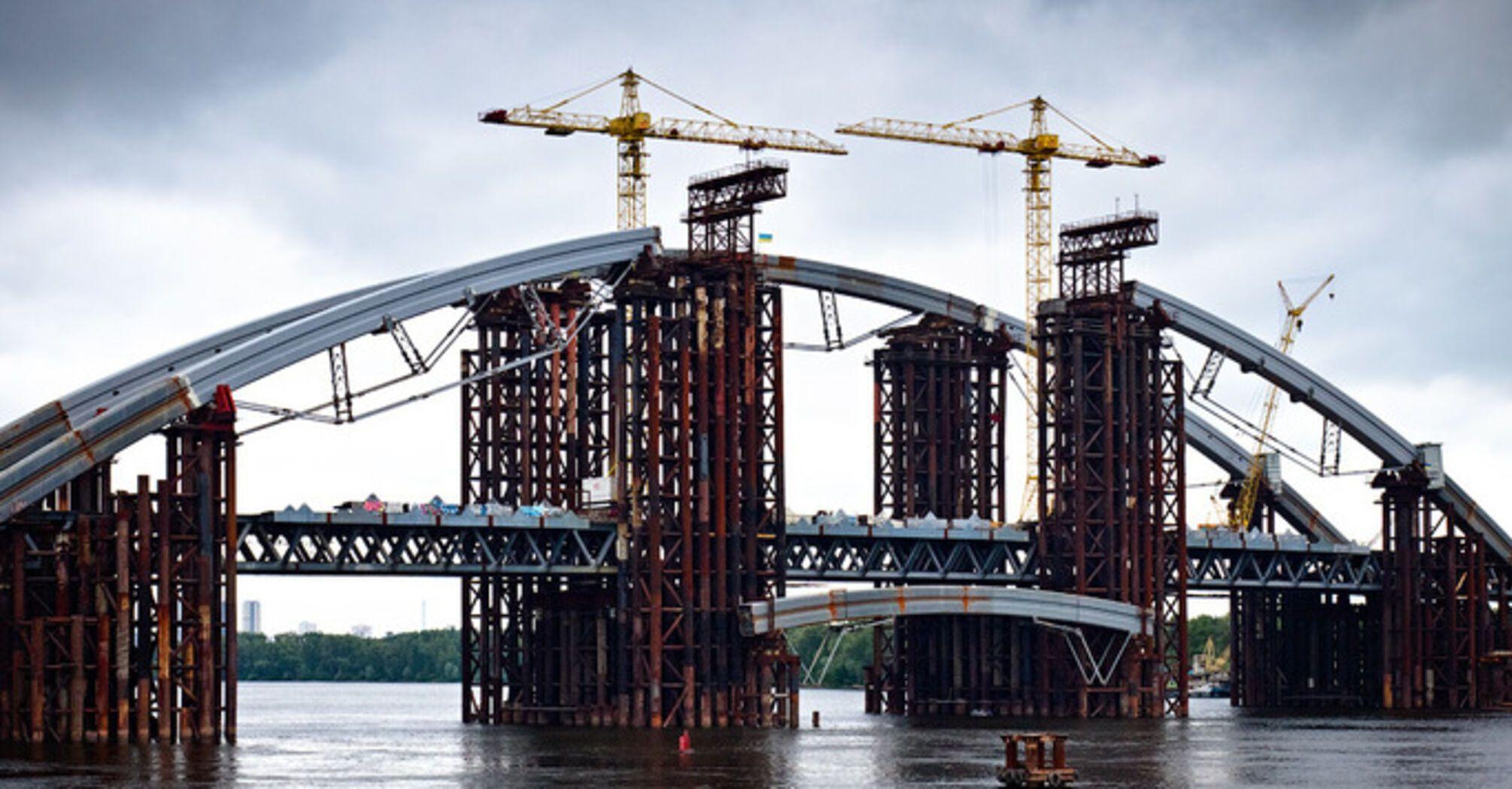 Будівництво Подільського мосту не припинять через супротив мешканців Русанівських садів