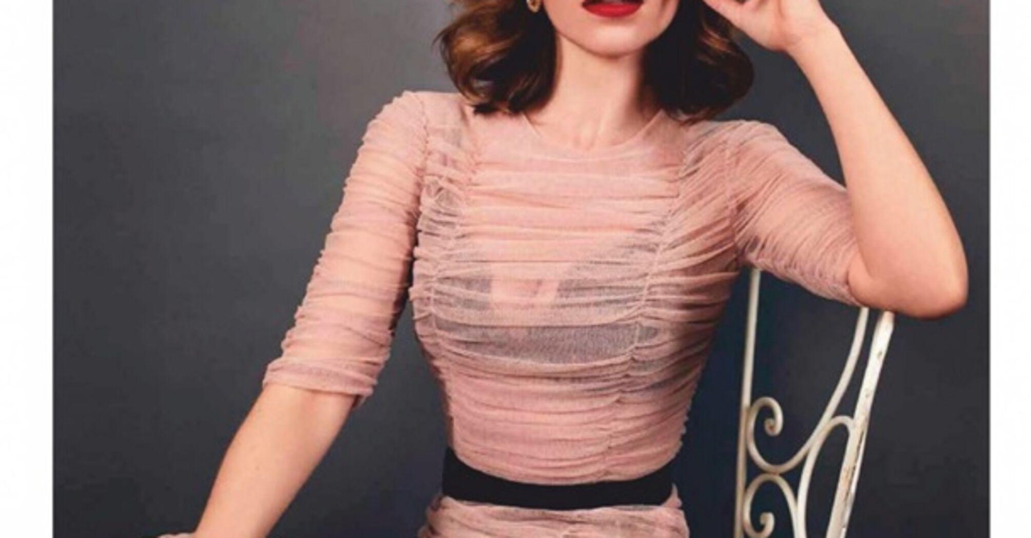 Похудевшая Эмилия Кларк снялась в пикантных образах