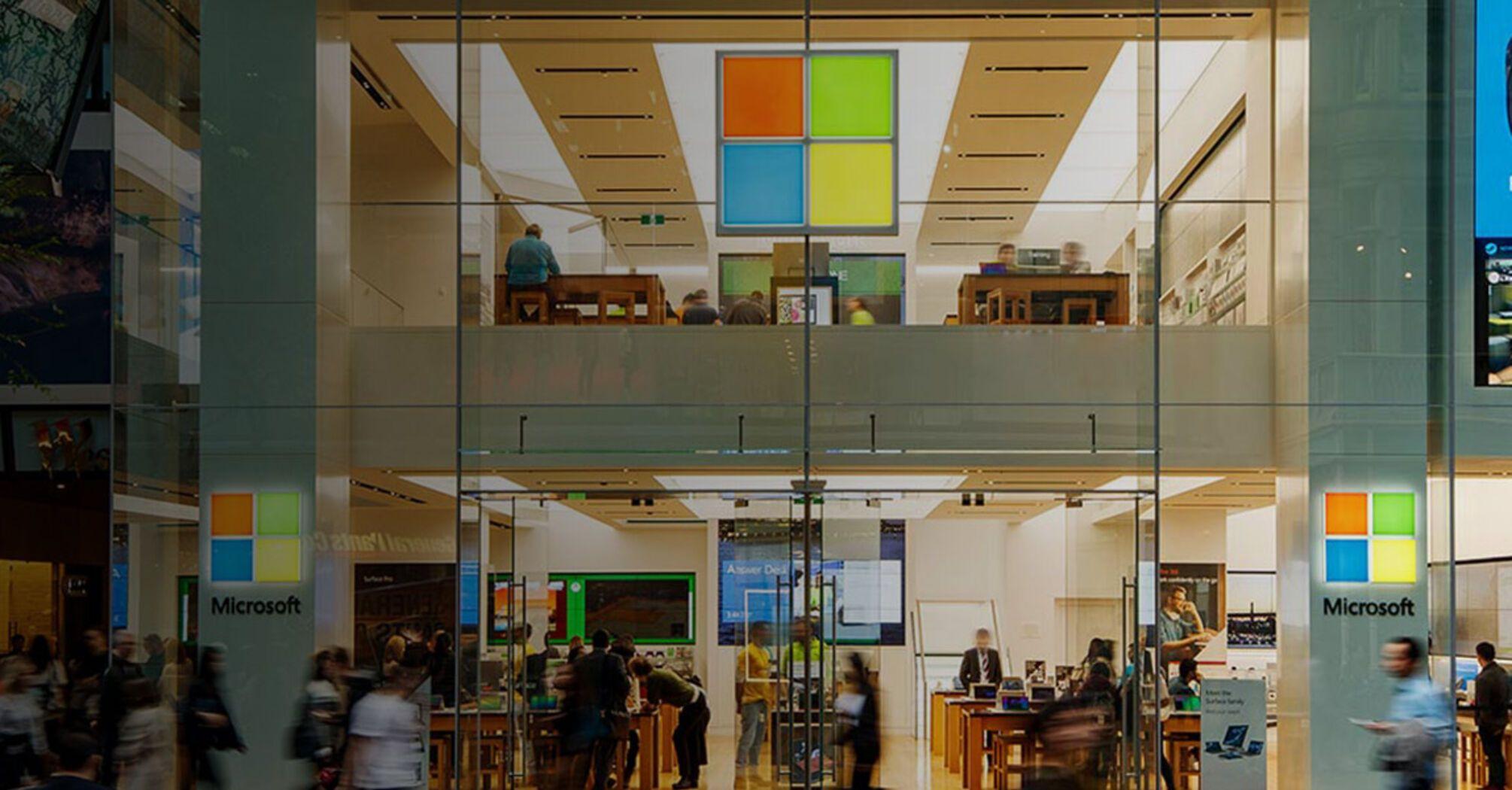 Microsoft закроет все розничные магазины