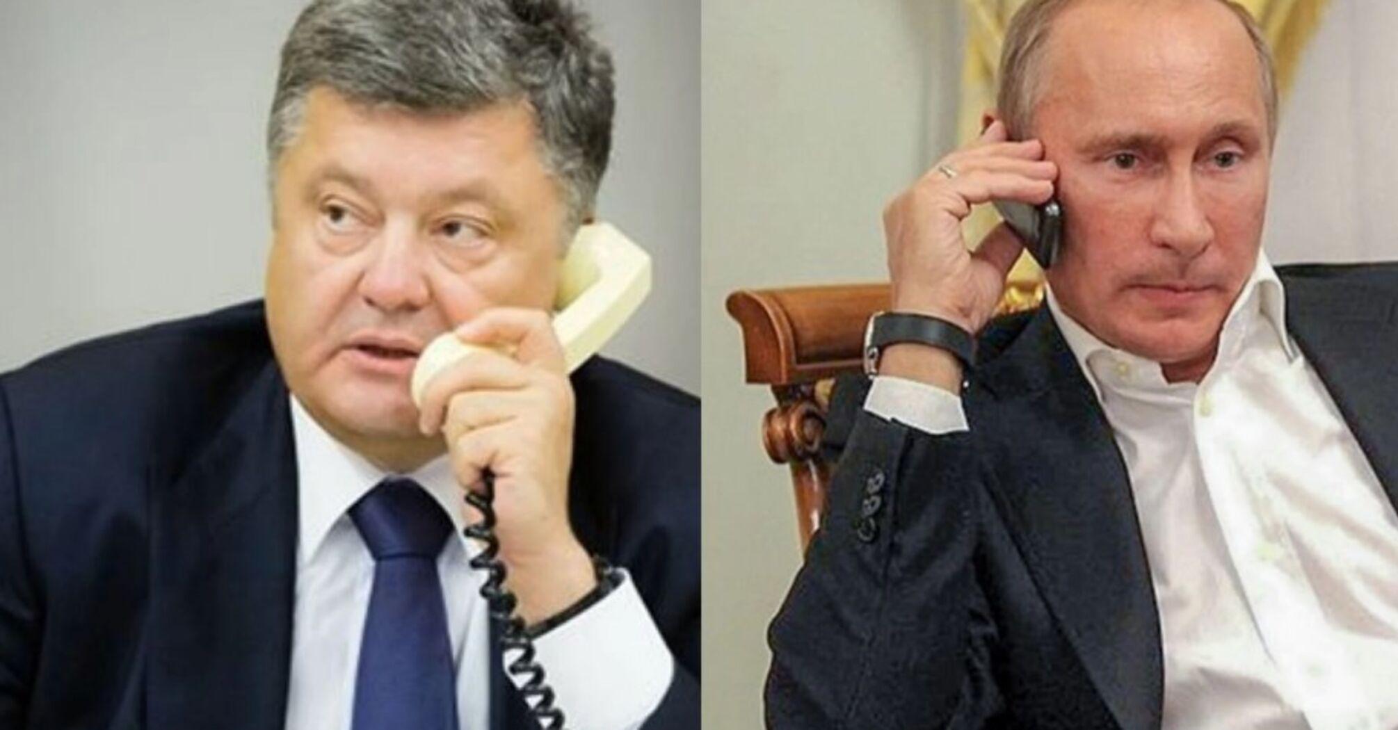 У МВС прокоментували походження записів розмови Порошенка і Путіна