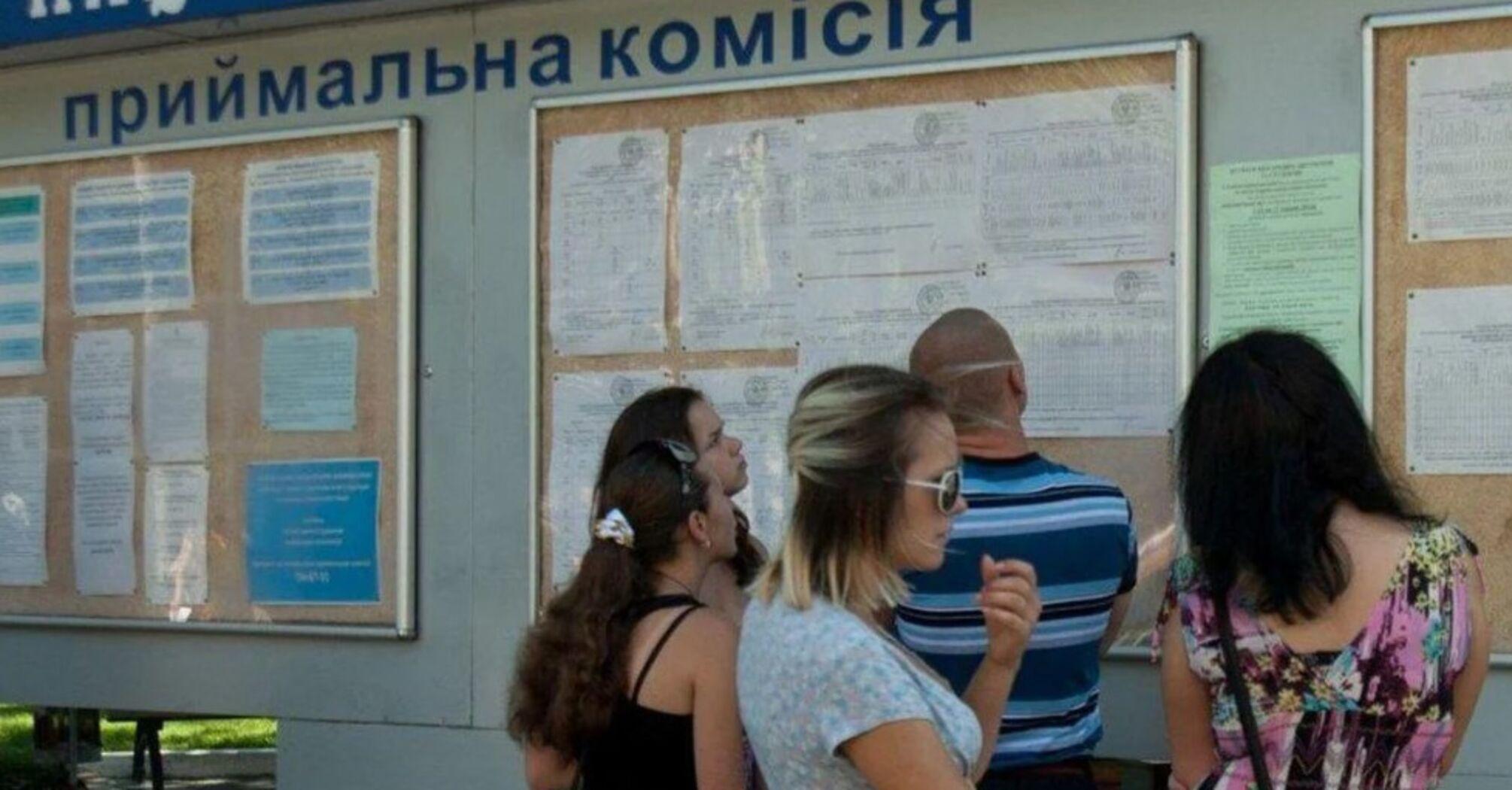 Окупанти не випускають абітурієнтів з ОРДЛО для вступу до українських вишів