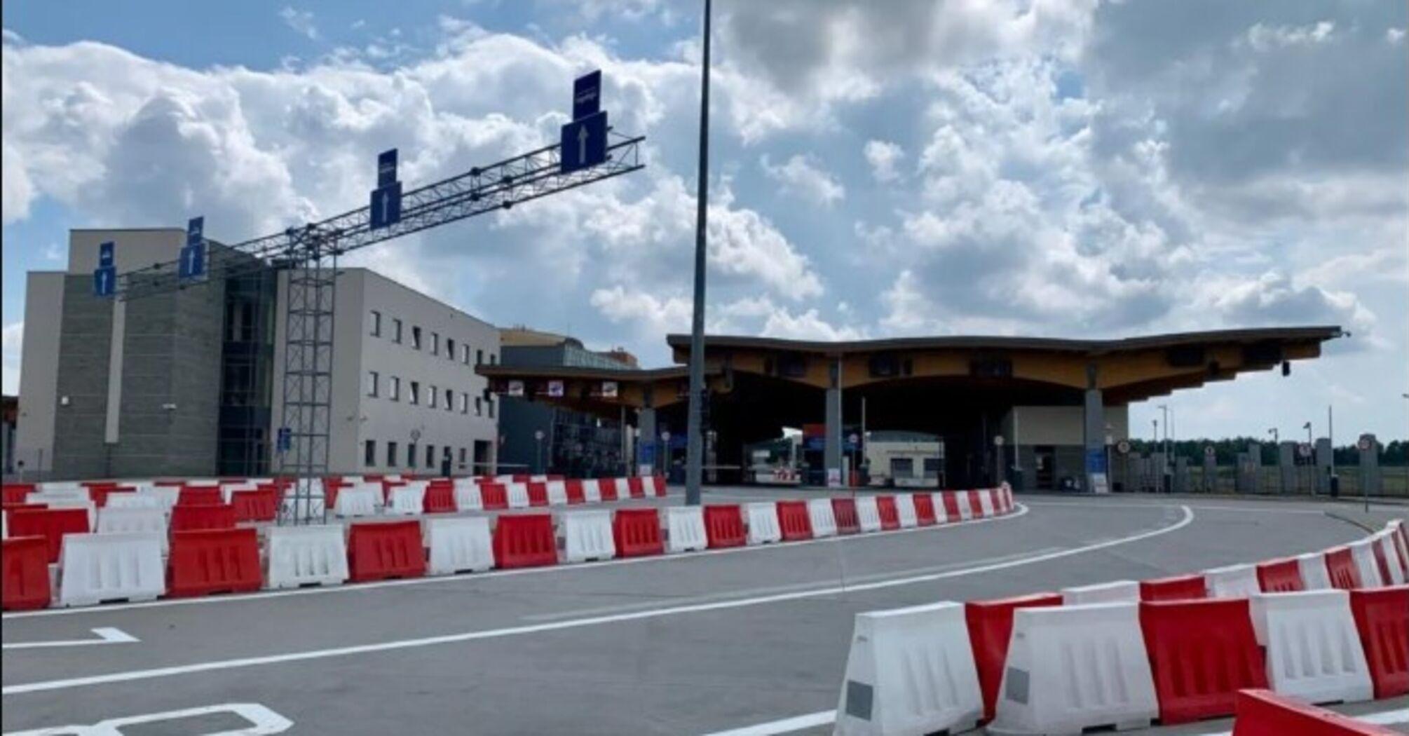 Відновлено роботу ще одного пункту пропуску на кордоні з Польщею