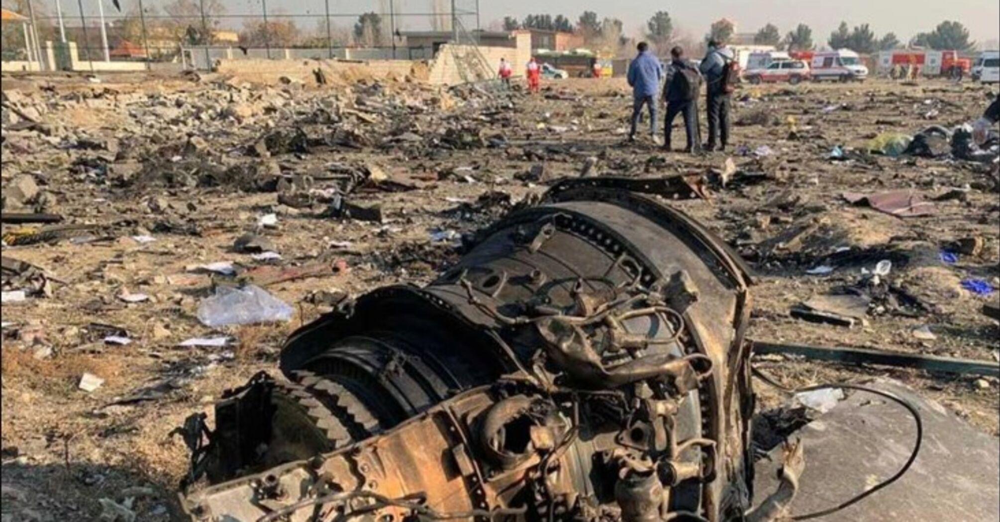 """Авиакатастрофа в Иране: экспертиза """"черных ящиков"""" может занять пять дней"""
