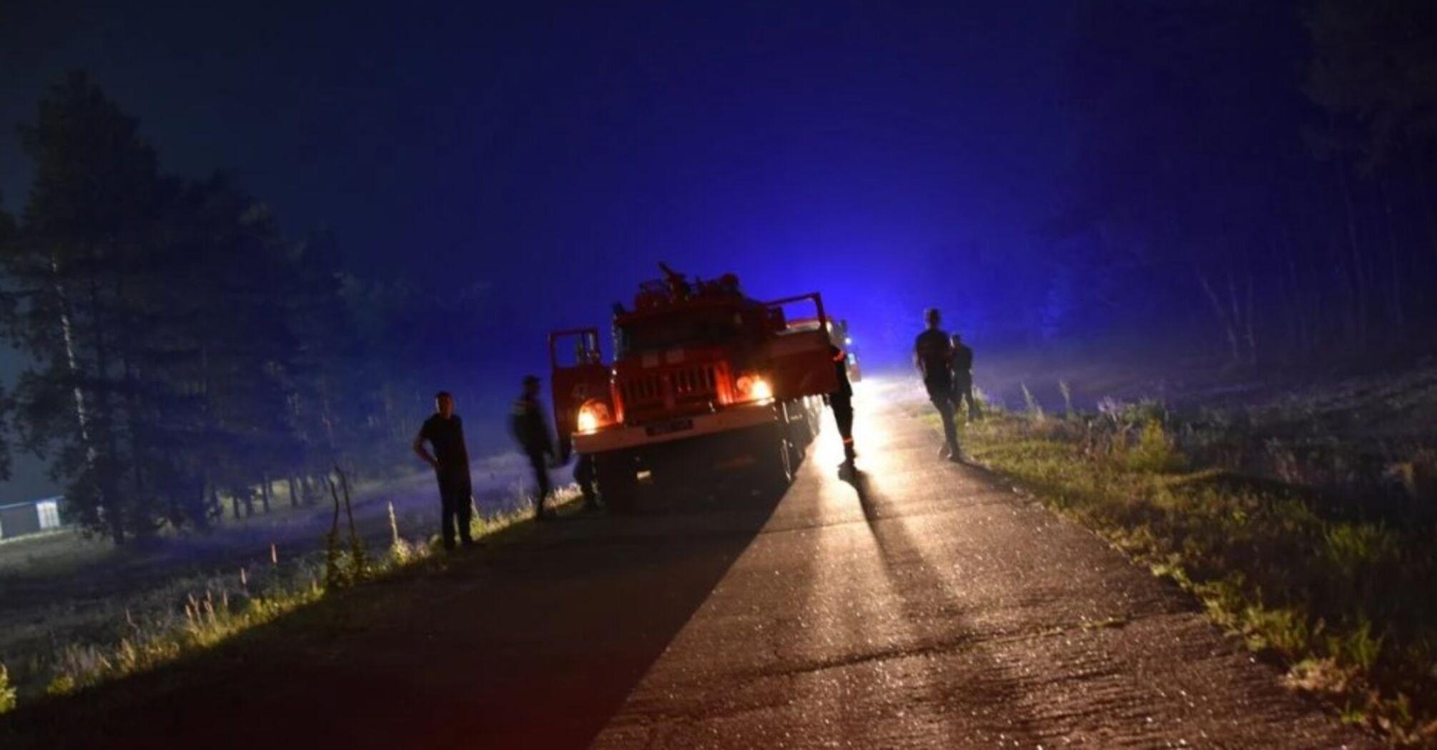 Пожежі на Луганщині вдалось локалізувати