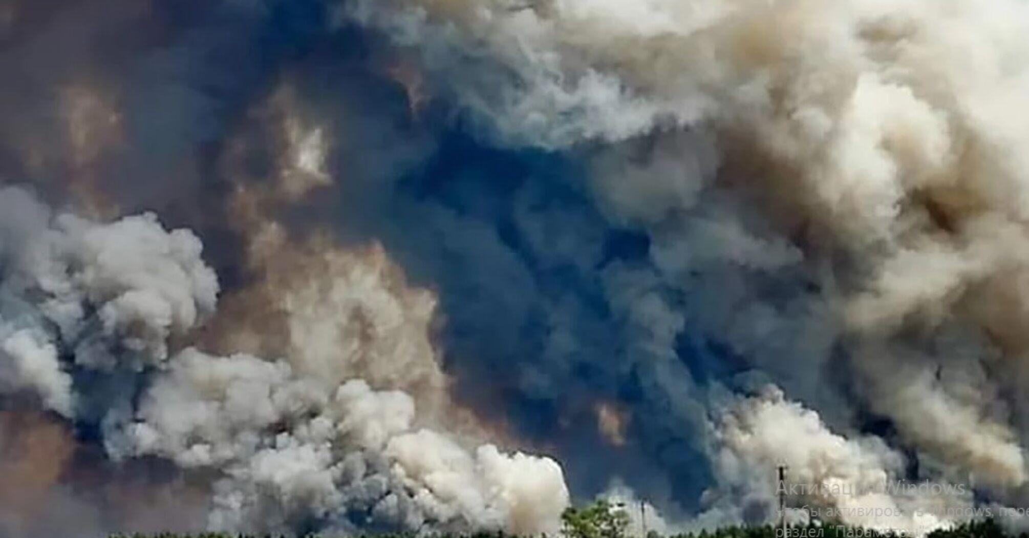 Слишком много подозрительных совпадений в пожарах на Луганщине