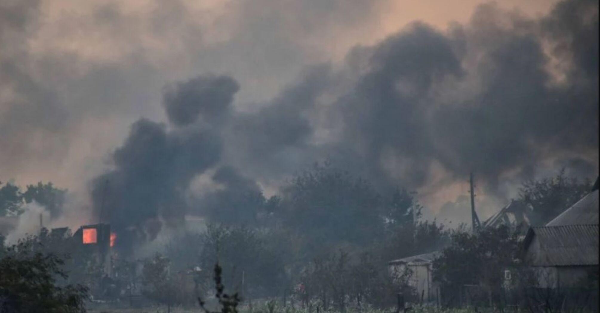 Зросла кількість загиблих через пожежу на Луганщині