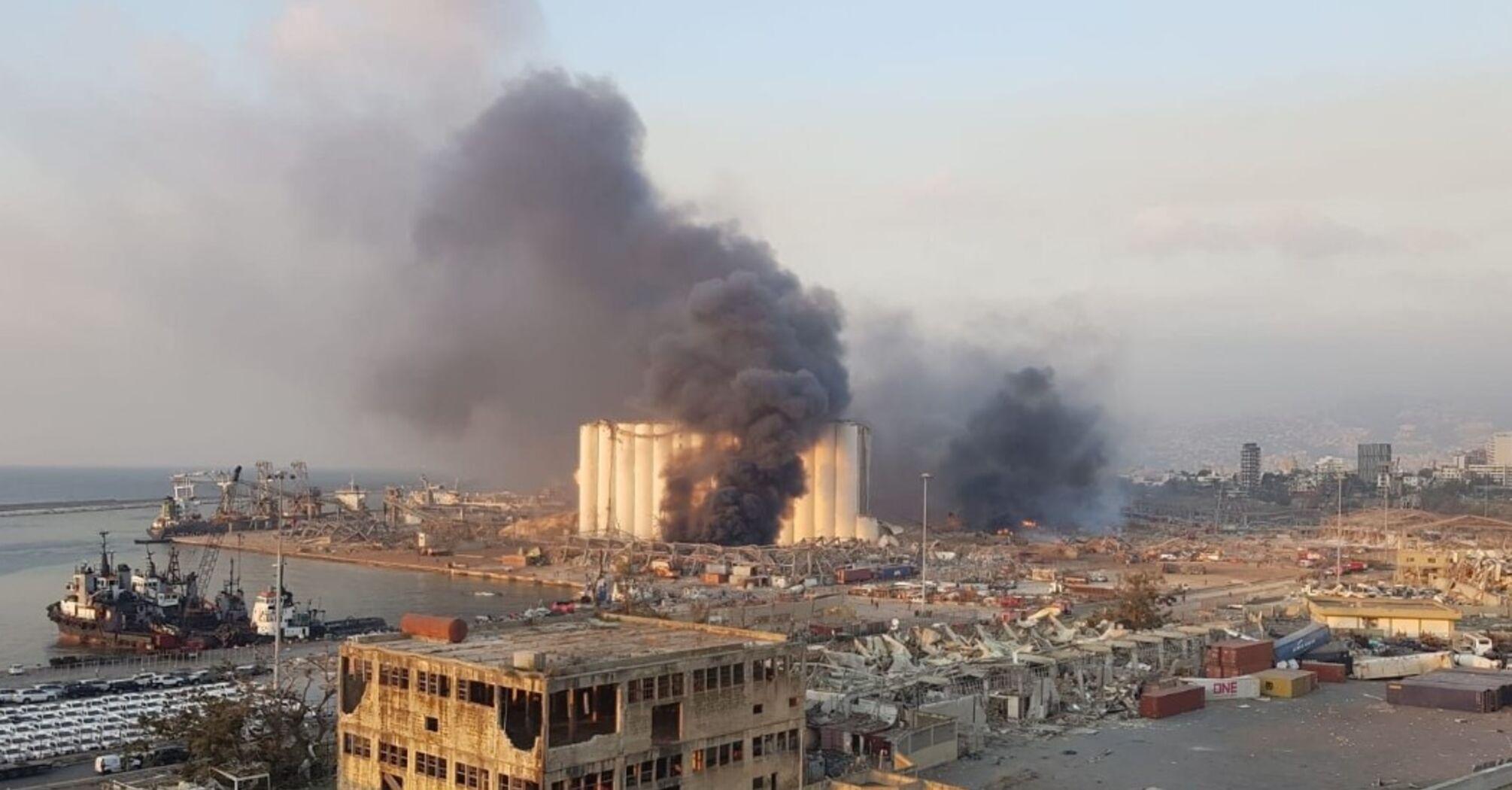Взрыв в Бейруте: Пентагон заявил о вероятной атаке