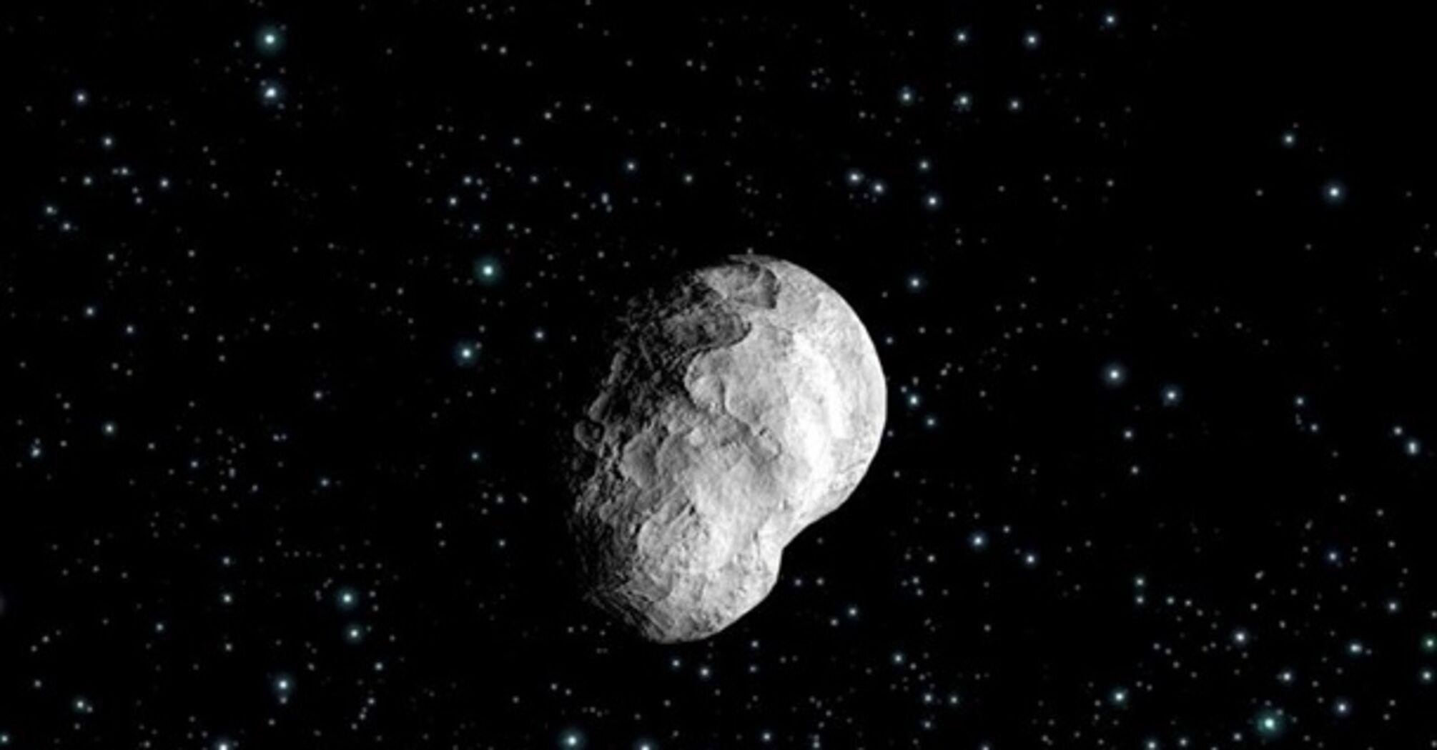 К Земле незаметно приблизился астероид. Видео