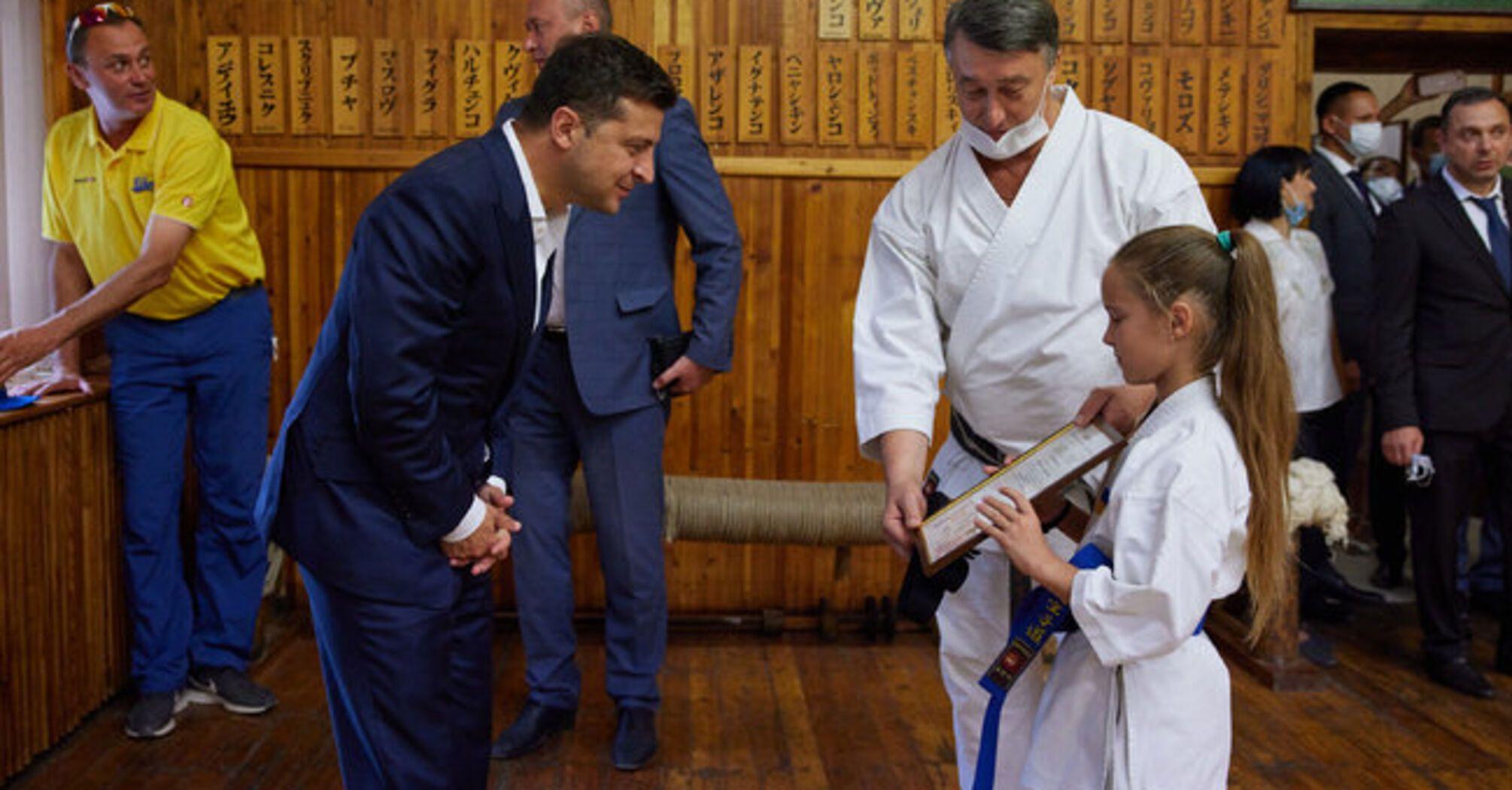 Ексголова Державної фіскальної служби запросив Зеленського на дзюдо