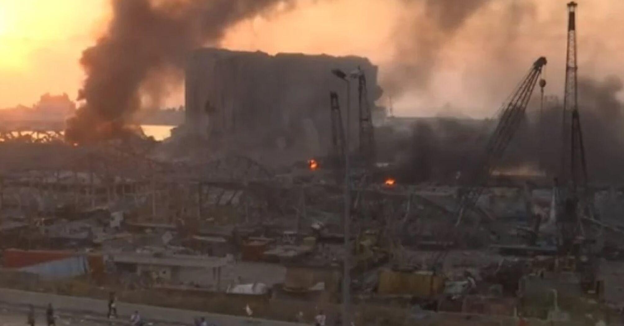 В результате взрыва в Бейруте пострадали граждане Украины