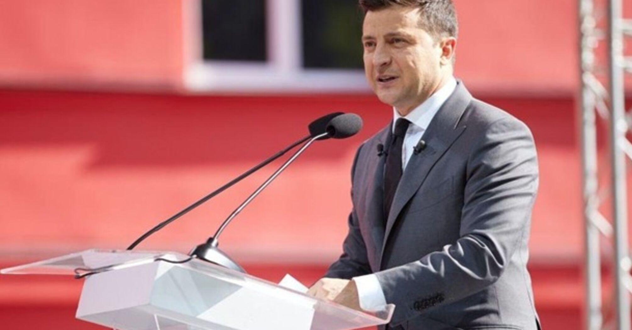 Зеленский объявил всенародный опрос 25 октября