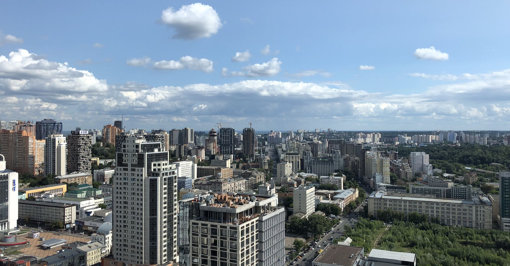 КМДА нагадує: для будівництва споруд вище 45 метрів у Києві потрібні особливі погодження