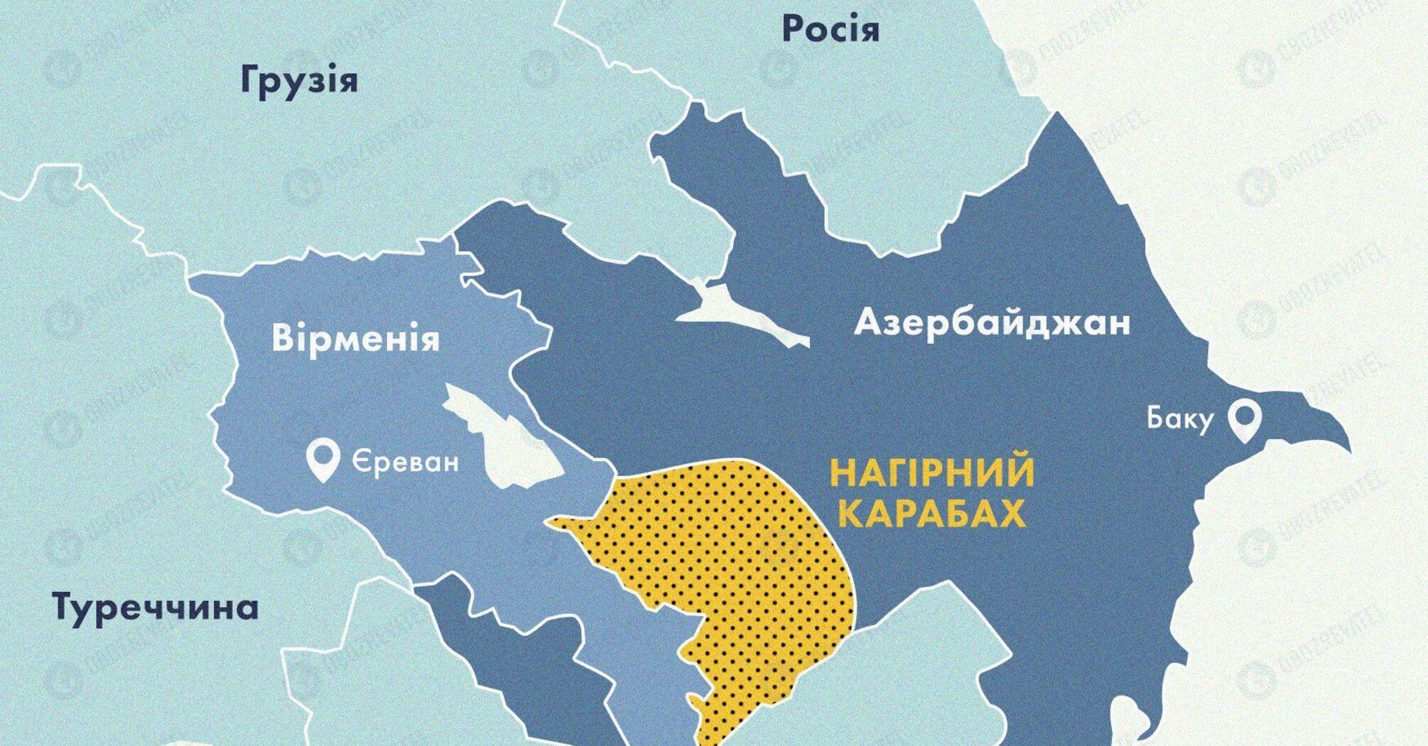 Турция заявила о поддержке Азербайджана в Карабахе