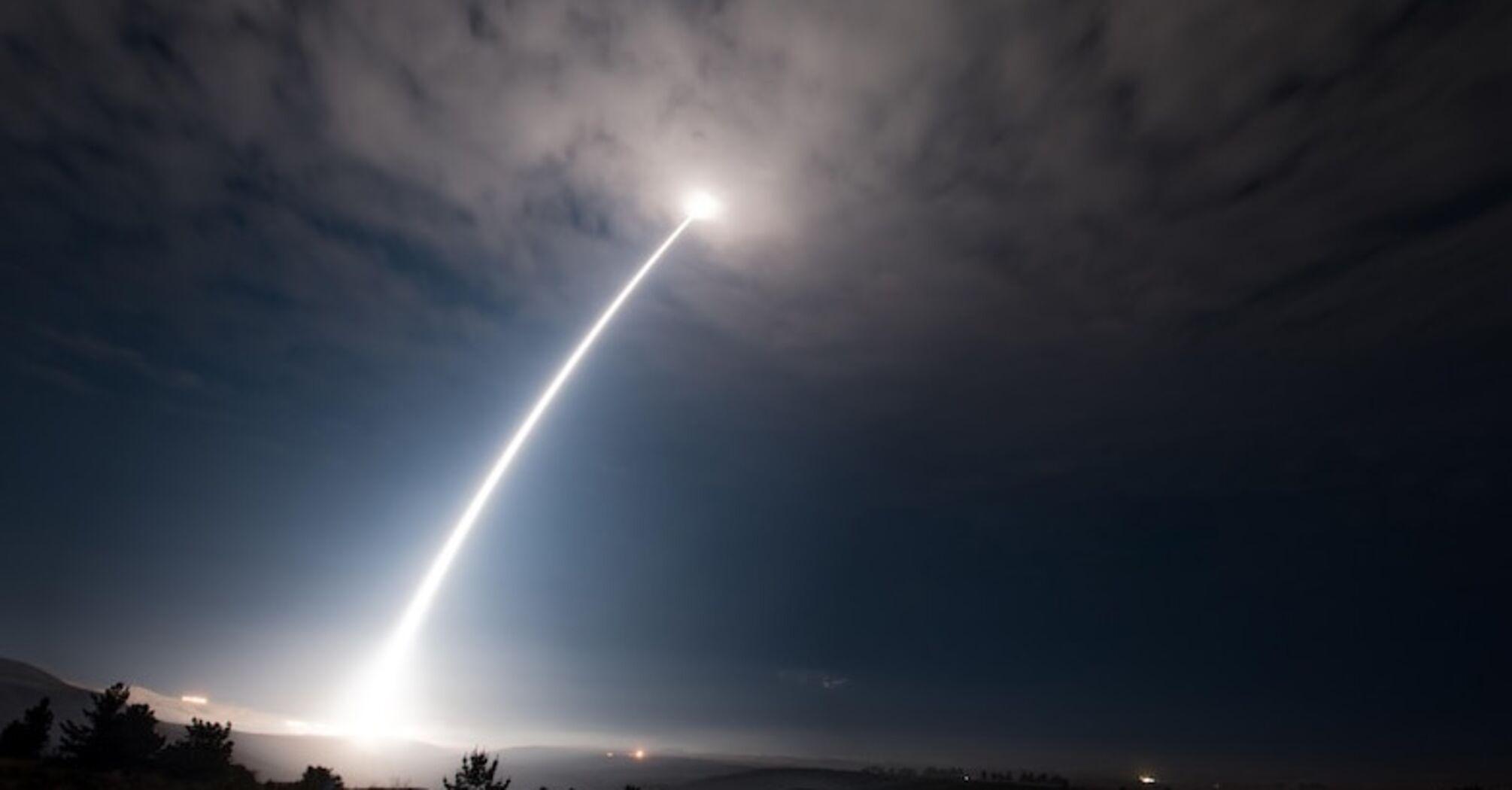 В США испытали ядерную ракету Minuteman III. Видео