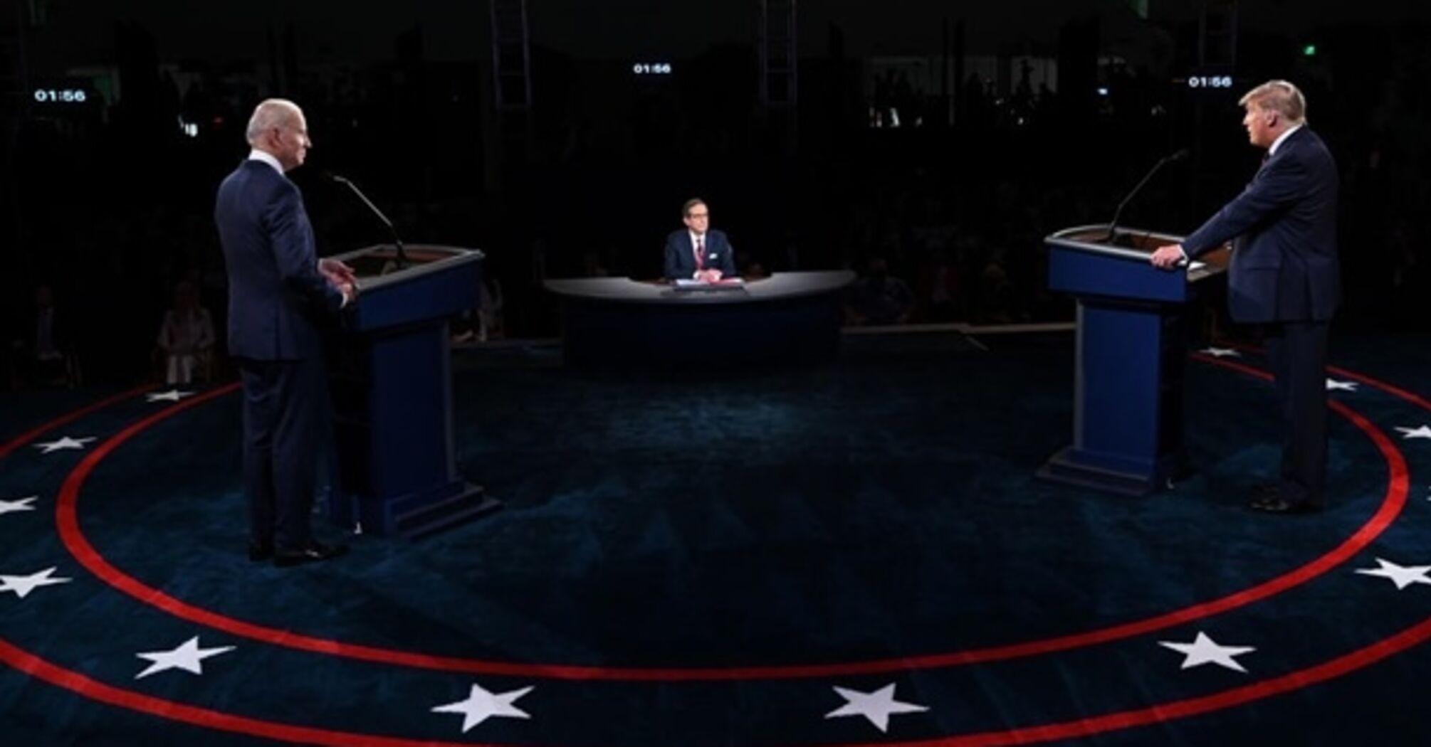 У США відбулися дебати Трампа з Байденом