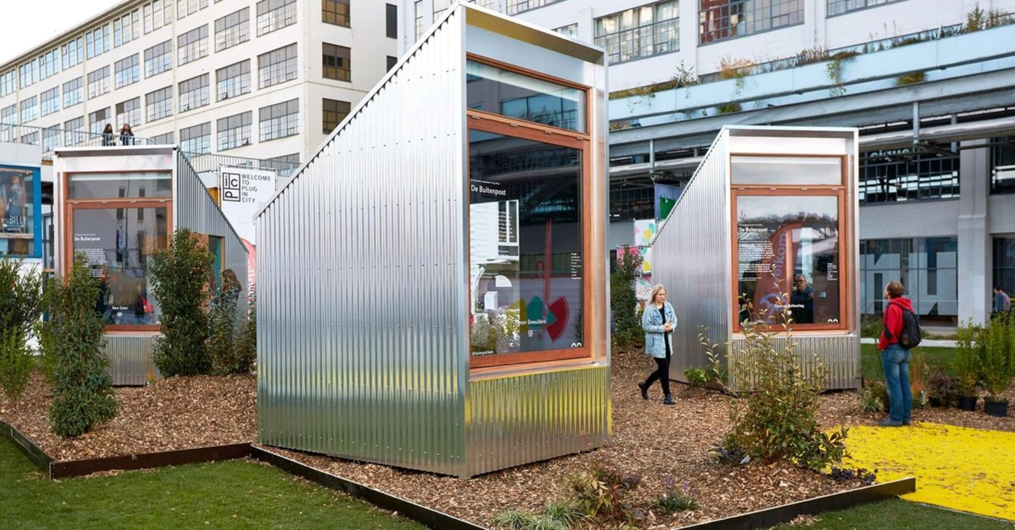 В Нидерландах открыли одноместные офисы в парке