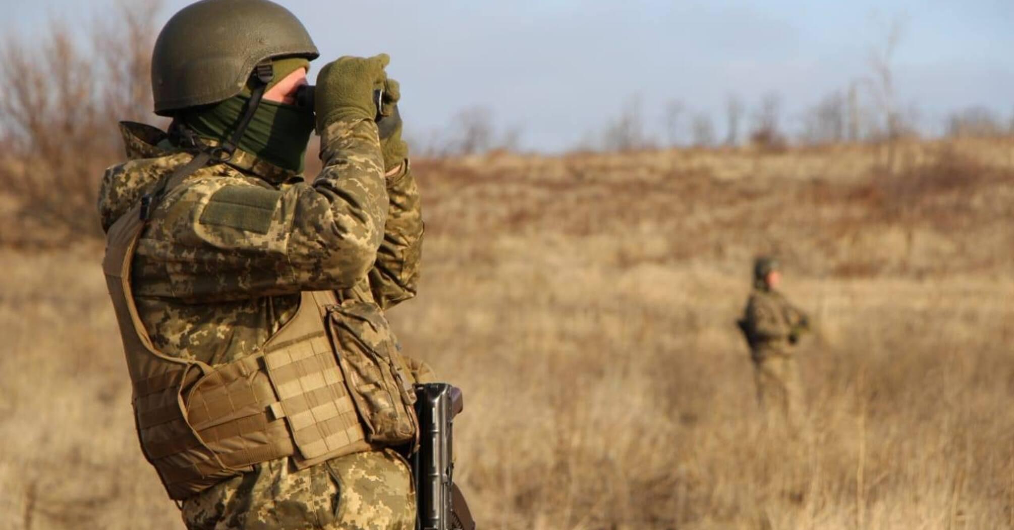 Сутки в ООС: два обстрела, потерь нет