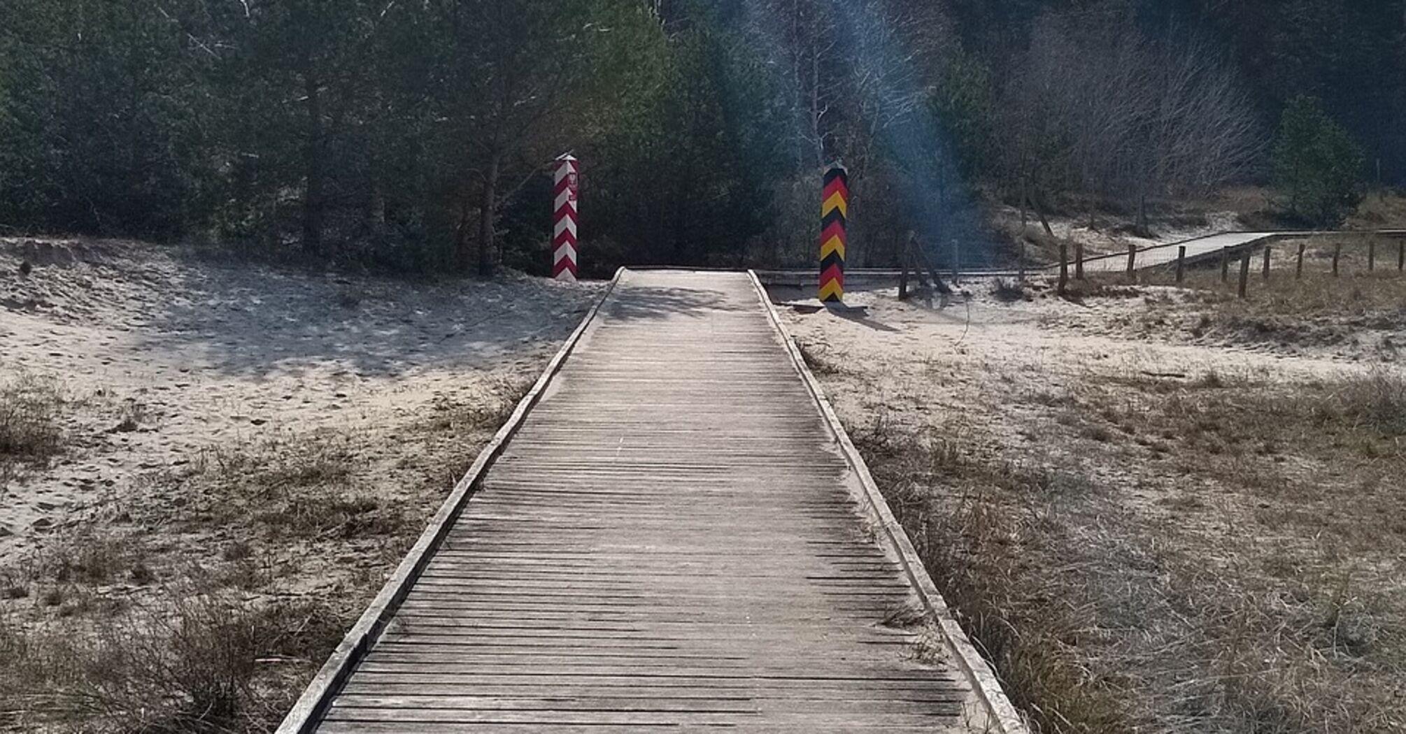 межа Німеччини з Польщею