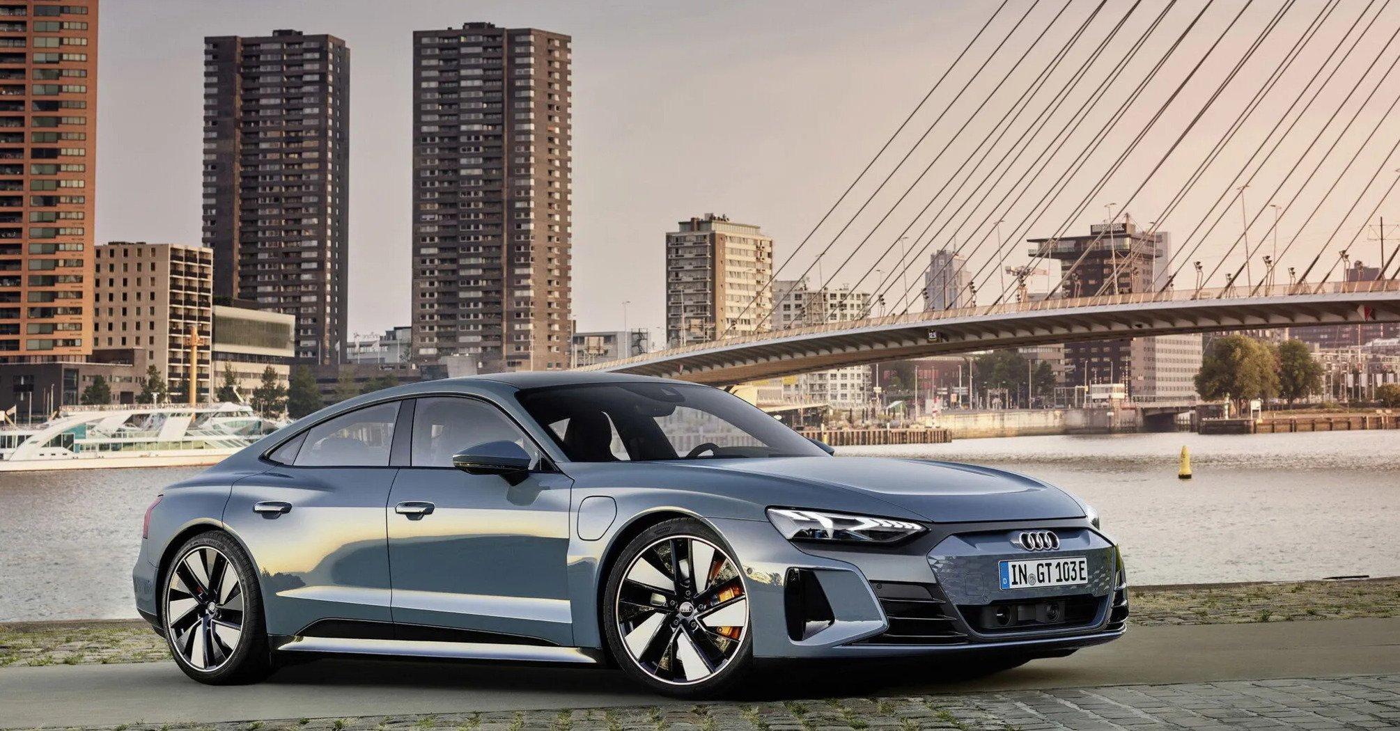 Audi e-tron GT: самая мощная серийная Аudi