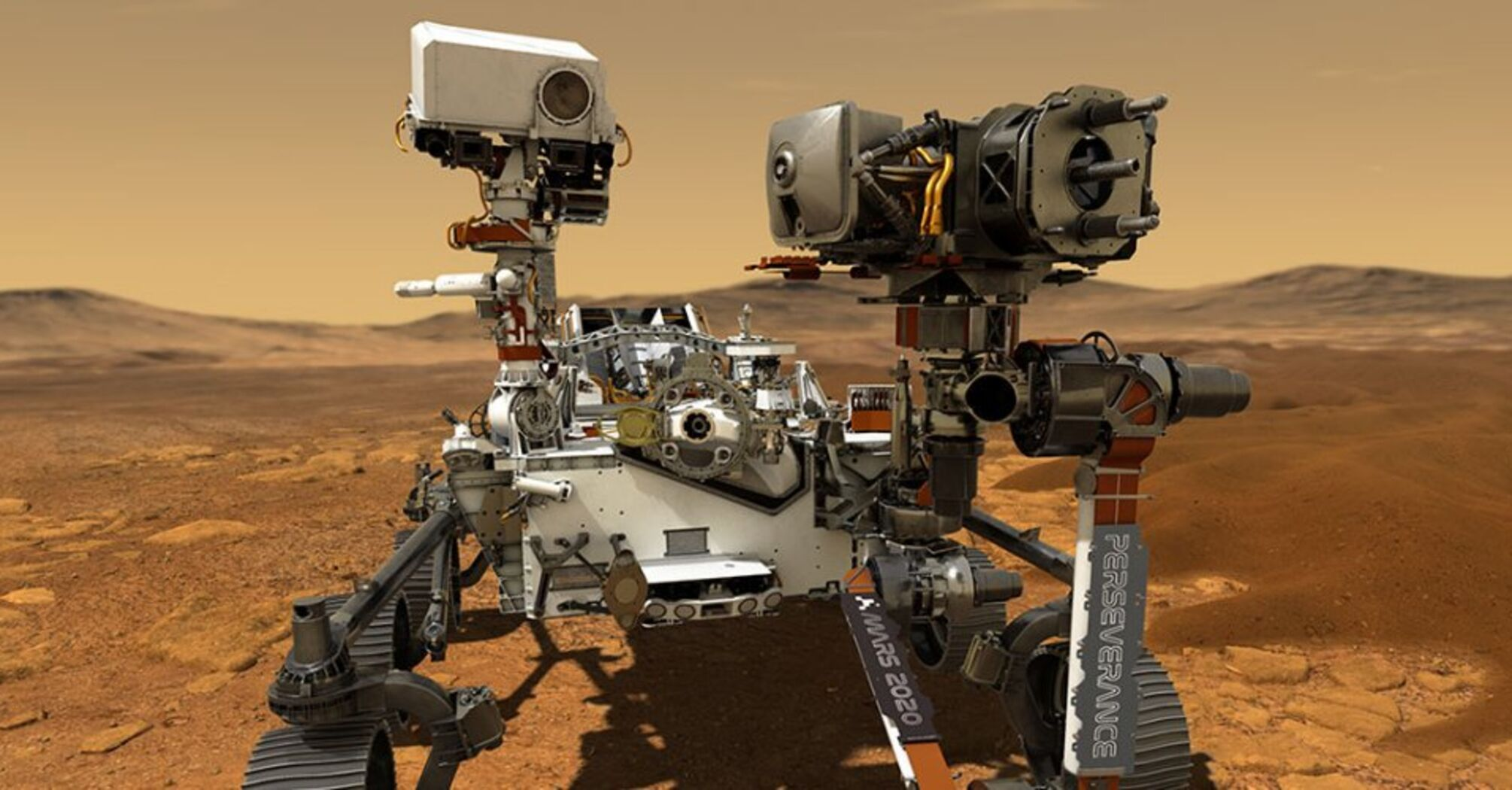 Апарат Perseverance уже надсилає перші фото після успішного приземлення на Марсі
