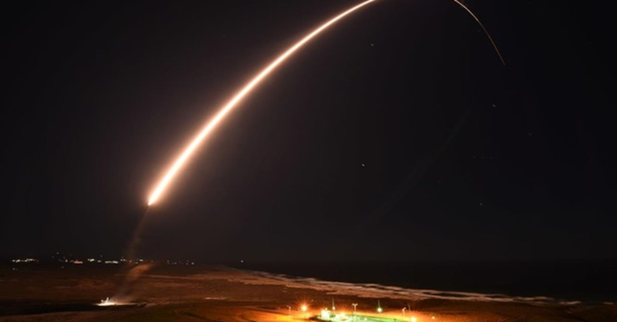 В США испытали межконтинентальную ракету