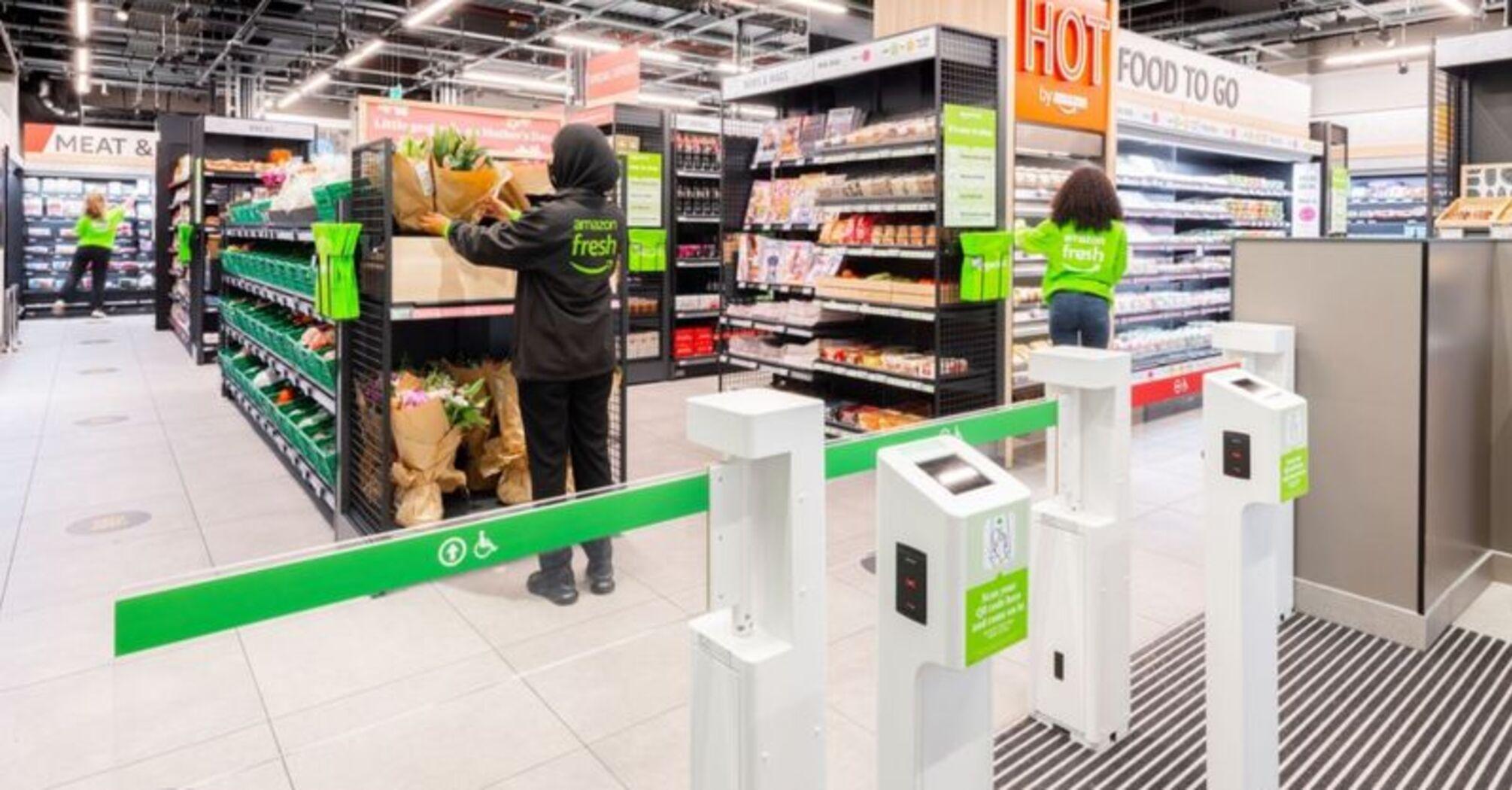 Amazon відкрила в Лондоні перший офлайн-магазин без касирів