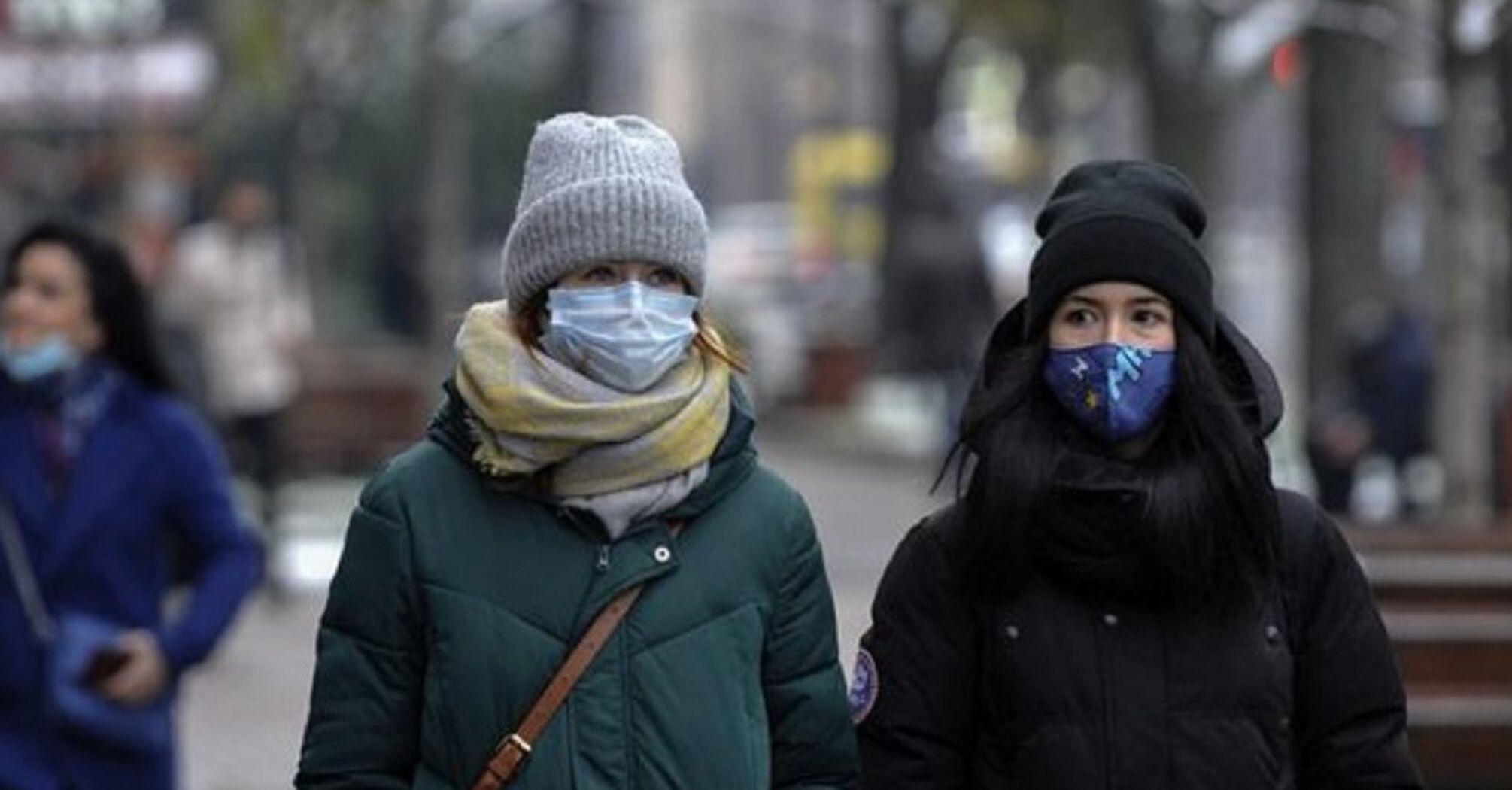 Украина на пике третьей волны коронавируса - МОЗ