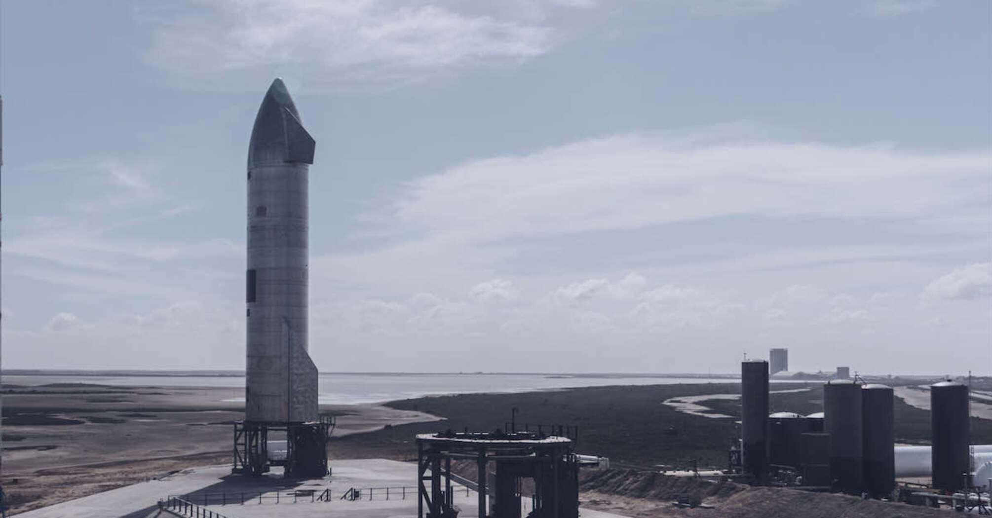 SpaceX планирует провести новое испытание прототипа космического корабля Starship