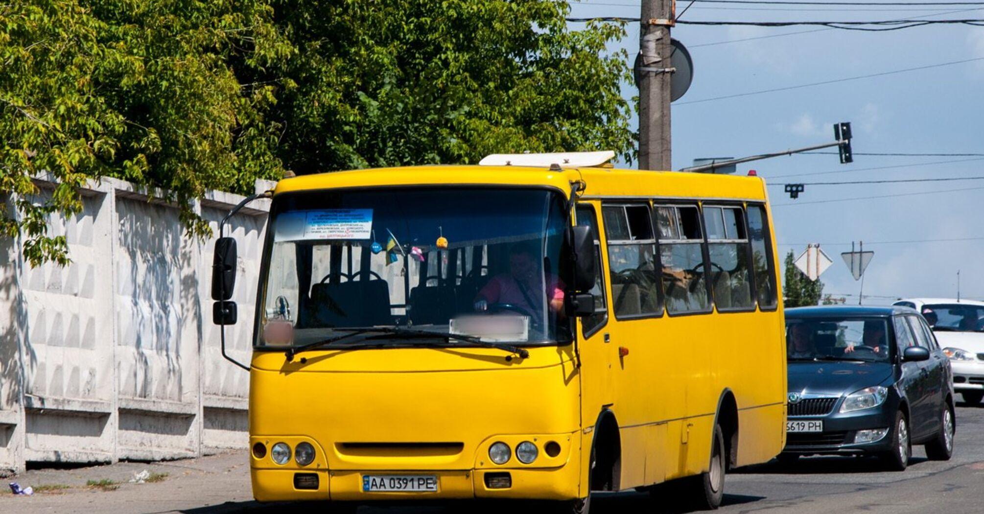 Київські маршрутки можуть зупинити роботу на цьому тижні