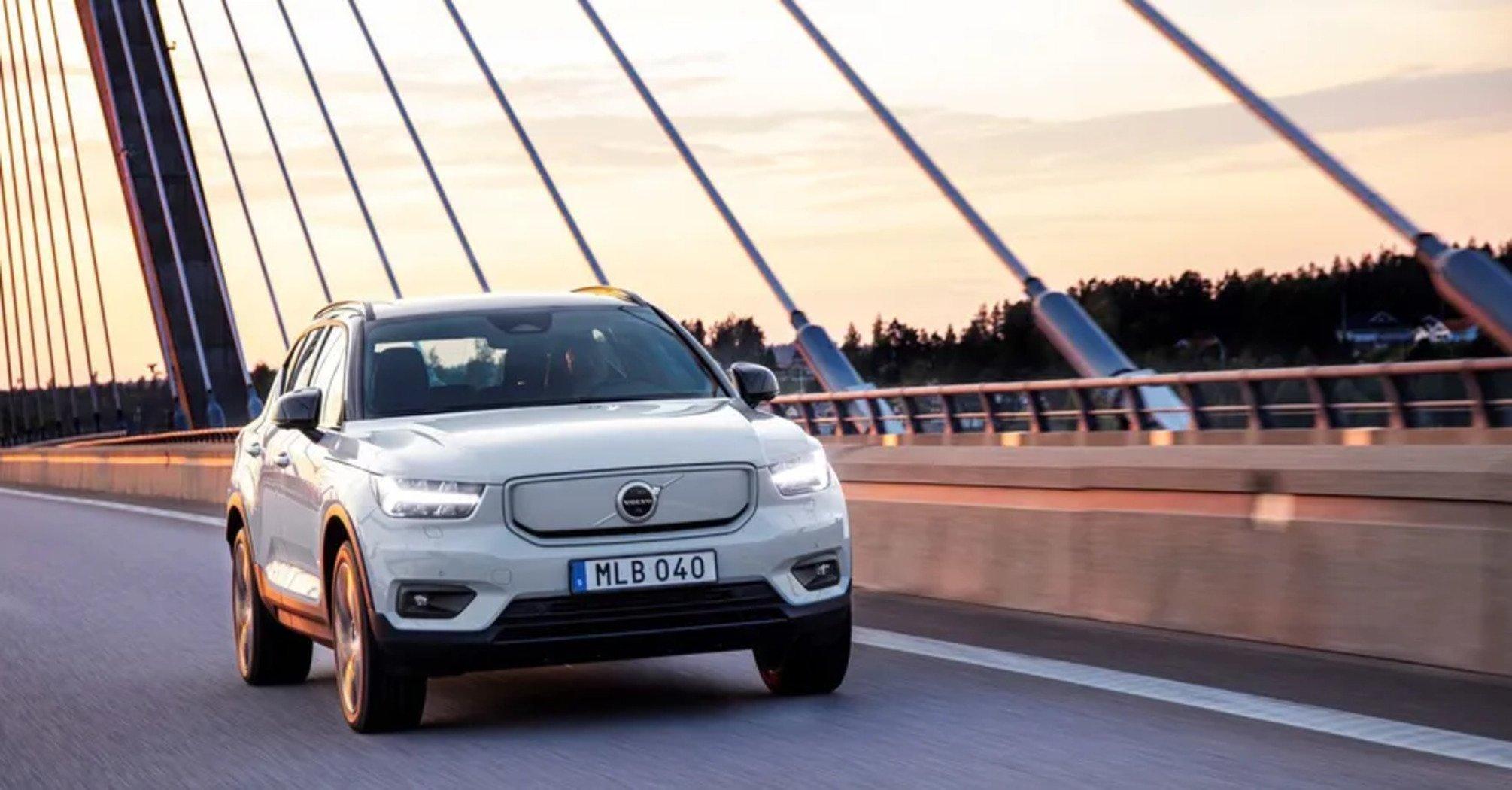 Первый электрокар Volvo стал доступен для заказа в Украине