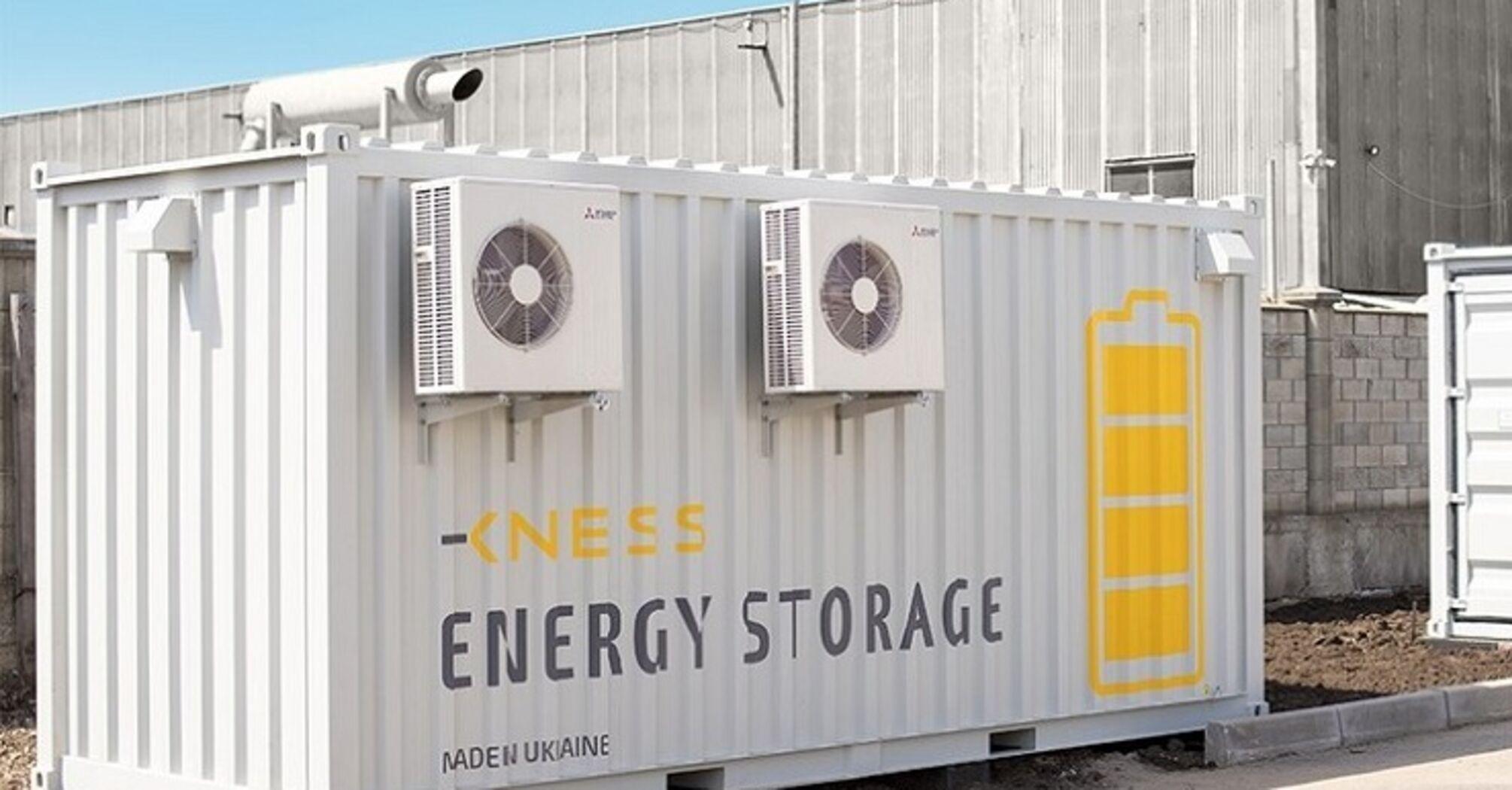"""В Україні запустили першу промислову систему накопичення """"зеленої енергії"""""""