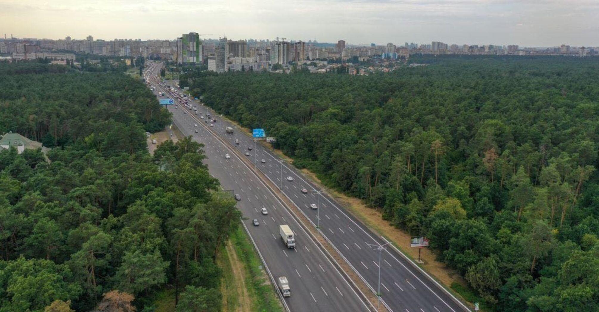 Траса Київ – Бориспіль повністю відкрита після реконструкції