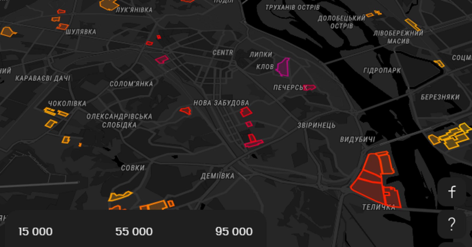 Забудовники зможуть отримати 4 трлн грн доходу у разі забудови тільки 20% промзон Києва